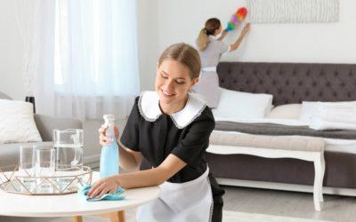 Chemia hotelowa. Najczęściej stosowane środki czystości